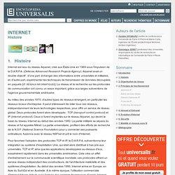 INTERNET - Ecyclopédia Universalis