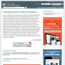 CLOÎTRE DE SAINT-PIERRE DE MOISSAC