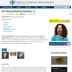 biography - British explorer