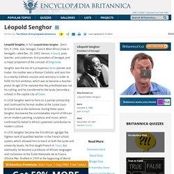 biography - president of Senegal