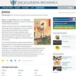 Jimmu (legendary emperor of Japan)