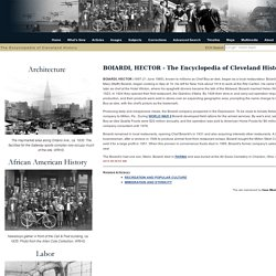 Encyclopedia of Cleveland History: BOIARDI, HECTOR