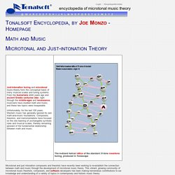 Encyclopedia of Microtonal Music-Theory