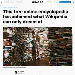 Stanford Encyclopaedia Achieves Wikipedia's Ambition