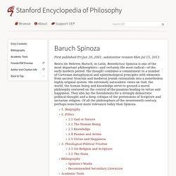 Stanford - Philosopy