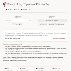 Stanford Encyclopedia