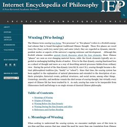 Internet Encyclopedia of Philosophy