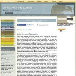 John Dewey et l'éducation