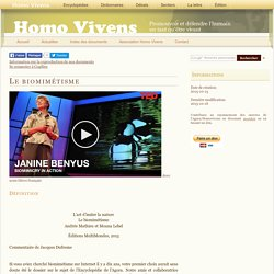 Encyclopédie Homo Vivens