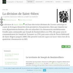 La division de Saint-Méen - Encyclopédie de Brocéliande