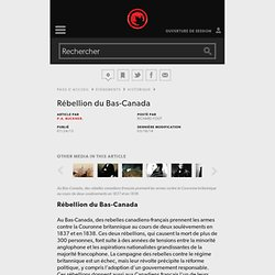 l'Encyclopédie Canadienne