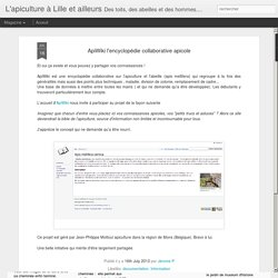 ApiWiki l'encyclopédie collaborative apicole