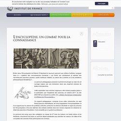 L'Encyclopédie, un combat pour la connaissance