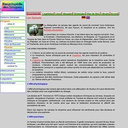 L'Encyclopédie des Drogues: Les Opiacés