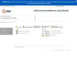 EDF - Petite encyclopédie de l'électricité - Ressources média - Electricité