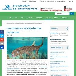 Les premiers écosystèmes terrestres - Encyclopédie de l'environnement
