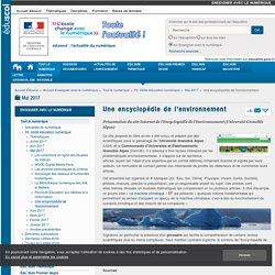 Une encyclopédie de l'environnement — Enseigner avec le numérique