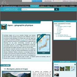 Japon : géographie physique