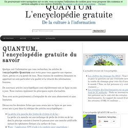 Encyclopedie Gratuite en ligne