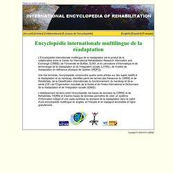 Encyclopédie internationale multilingue de la réadaptation