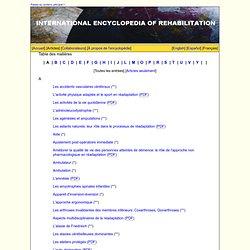 Table des matières: A