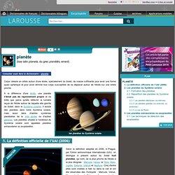 planète bas latin planeta du grec planêtês errant