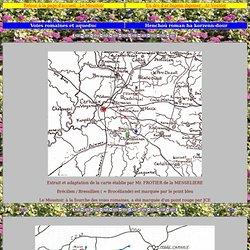Le Moustoir : voies romaines et aqueduc / Ar Vouster : Henchoù roman ha korzenn dour. Encyclopédie Marikavel des noms de lieux.