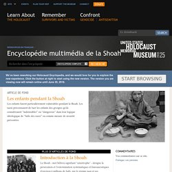Encyclopédie multimédia de la Shoah [ressource]