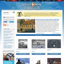 Encyclopédie du patrimoine culturel de l'Amérique française – histoire, culture, religion, héritage