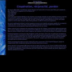 cooperation reciprocite pardon