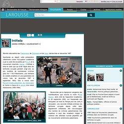 Intifada arabe intifāḍa soulèvement