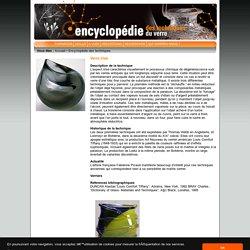 Encyclopédie des Techniques du Verre