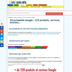173 services Google