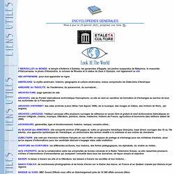 Encyclopédies générales