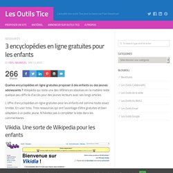 3 encyclopédies en ligne gratuites pour les enfants