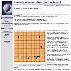 EncyGoPedie: Conseils elementaires pour le Fuseki