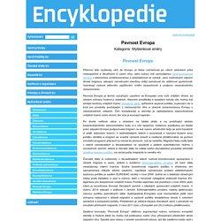 Encyklopedie - Evropa 2045