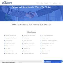 B2B Ecommerce Software