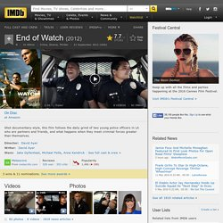 End of Watch (2012