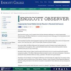 Endicott College - Observer Newspaper