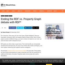 Ending the RDF vs. Property Graph debate with RDF*