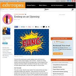 Ending on an Upswing