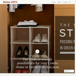 The Endless storage possibilities for your Condo Home in Green Hills San Juan – Home DIYS