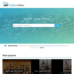 EndlessVideo - Loop YouTube video / Split & repeat partial YouTube videos