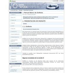 Manual Básico de EndNote — Centro de Ayuda de la Biblioteca Virtual en Salud