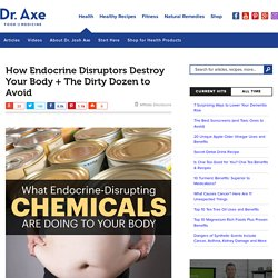 How Endocrine Disruptors Destroy Your Body - Dr. Axe