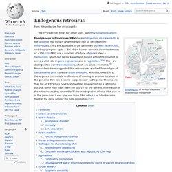 Endogenous retrovirus