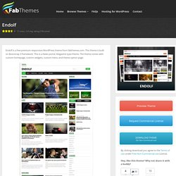 Endolf WordPress theme Wordpress Theme