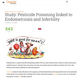 Study: Pesticide Poisoning linked to Endometriosis and Infertility
