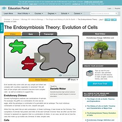 The Endosymbiosis Theory: Evolution of Cells - Free Intro to Biology Video